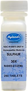 Hyland's Sulphur, 30X, Tablets, 250-Count