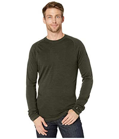 Smartwool NTS Mid 250 Crew Top (Olive Heather) Men