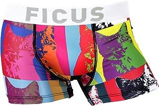 (フィークス)FICUS ボクサーパンツ メンズ ペア お揃い オリジナル 総柄 男性 下着 記念日