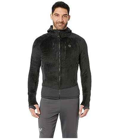Mountain Hardwear Monkey Mantm Grid II Hooded Jacket (Black 3) Men