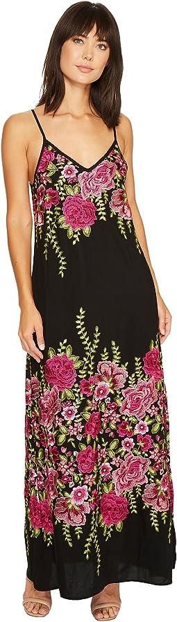 Karen Kane - Embroidered Maxi Dress