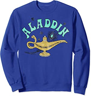 Disney Aladdin Live Action Ornate Lamp Sketch Sweatshirt