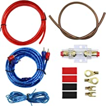 16 Gauge Car Amp Wiring Kit –Welugnal A Car Amplifier Install subwoofer Wire Wiring Kits Helps You Make Connections and Brings Power to Your Radio, Subwoofers and Speakers Amp Power Wire