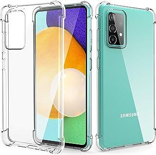 Migeec Funda para Samsung Galaxy A52 4G,5G Suave TPU Gel Carcasa Anti-Choques Anti-Arañazos Protección a Bordes y Cámara P...