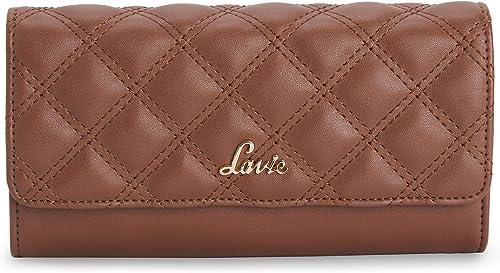 Halley Large Bi Fold 5C Women S Wallet Tan