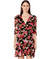 The Kooples - Peony Garden Print Midi Dress