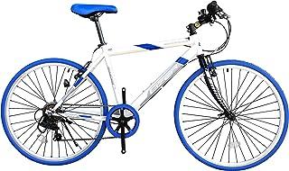Eizer(アイゼル) 【クロスバイク】街に合う! おしゃれなバイク! シマノ7段変速で快適走行! 可変ステムであなたにピッタリハンドル高さ調整! 全5カラーバリエーション! C808