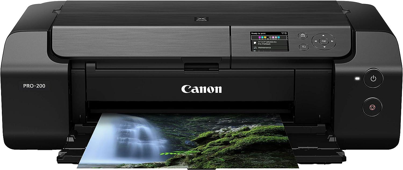 Canon PIXMA PRO-200 Wireless Professional Color Photo Printer, Prints up to 13