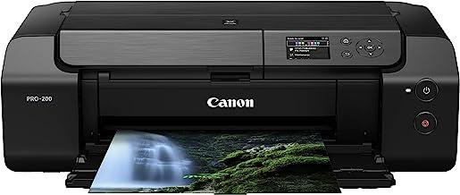 "Canon PIXMA PRO-200 Wireless Professional Color Photo Printer, Prints up to 13""X.."
