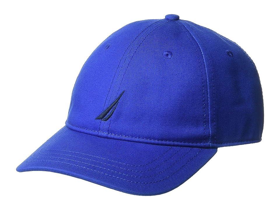 Nautica J Class 6 Panel Baseball Cap (Cobalt Wave) Baseball Caps