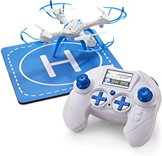 Quadcopter Drone for Kids and Beginners - Includes Helipad, RC Controller, 3 Speed Settings, Charger and Repair Kit