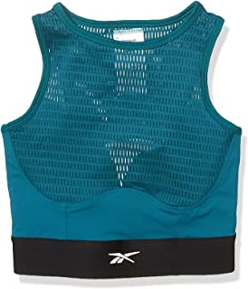 Reebok Training Supply Crop Perforated Top
