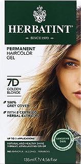 Herbatint Permanent Herbal Haircolor Gel, Golden Blonde, 4.56 Ounce