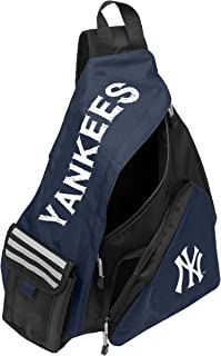 Officially Licensed MLB Leadoff Sling Travel Backpack, Team Gear, 20