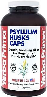 Yerba Prima Psyllium Husks Caps, 625 mg, 400 Capsules