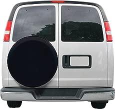 black spare tire cover