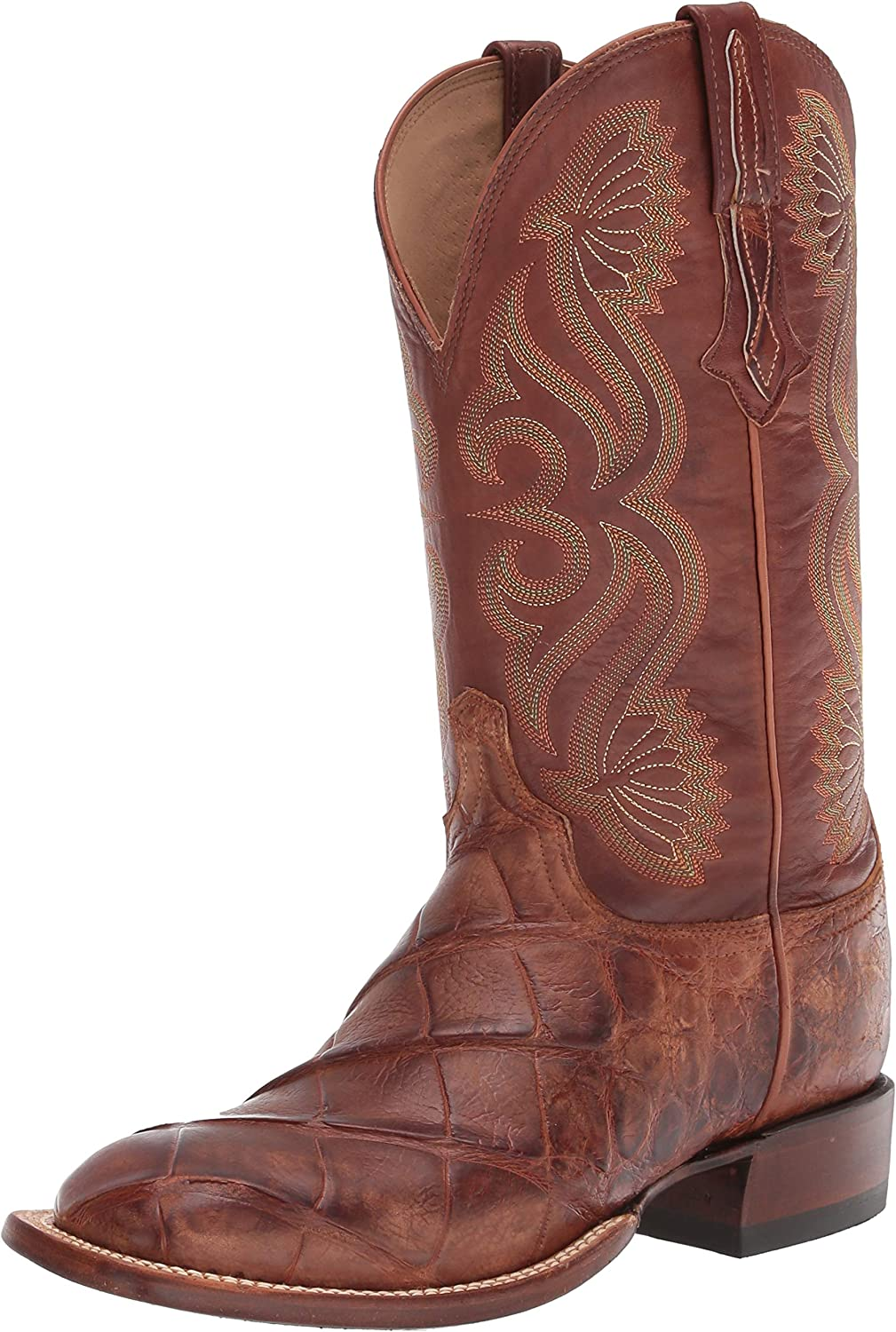 Lucchese mens Roy Alligator Boots Cowboy Square 5 ☆ very popular Branded goods Toe