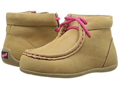 M&F Western Kids Reagan (Toddler) (Tan/Pink) Girls Shoes