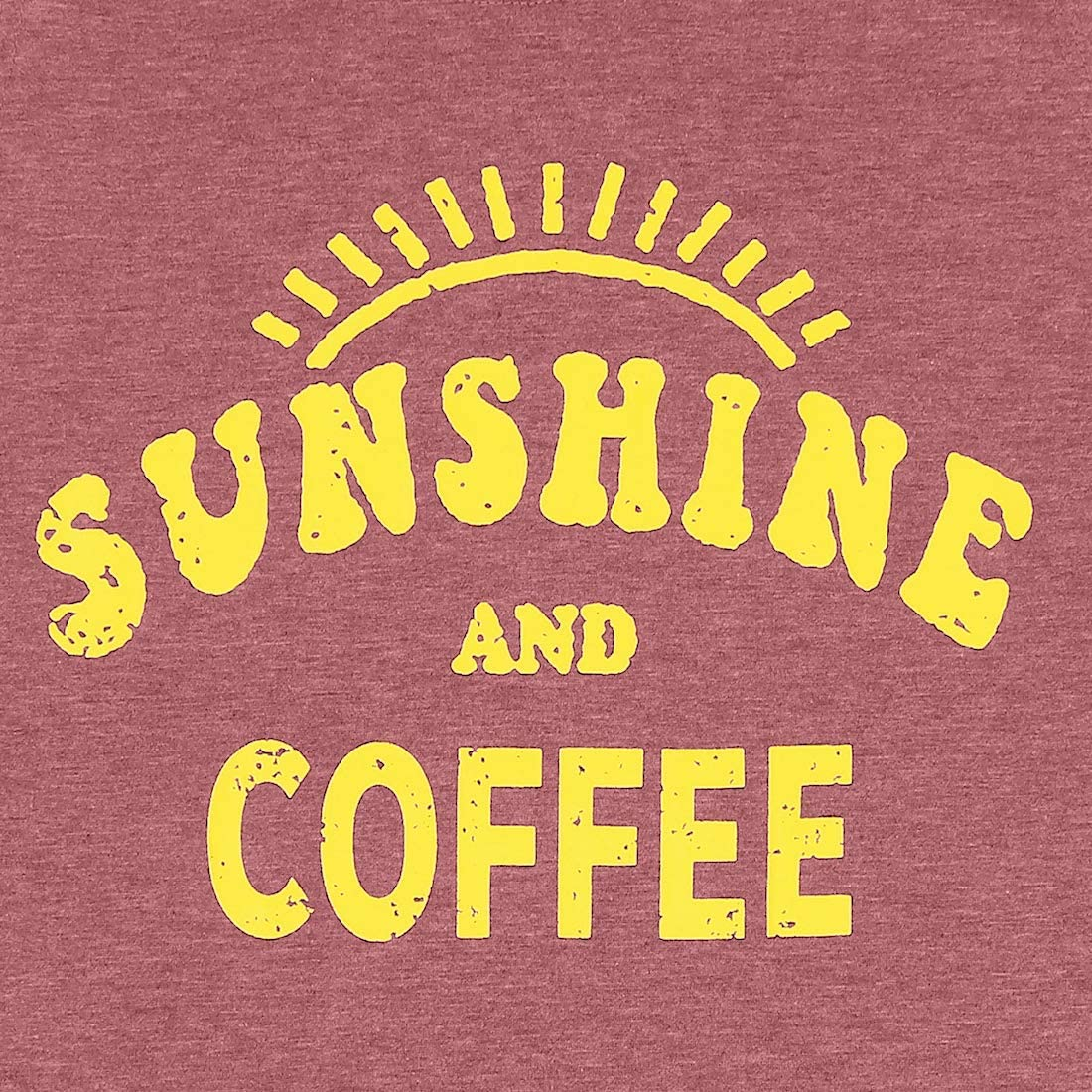 KIDDAD Tank Tops for Women Sunshine and Coffee Tank Top Funny Letter Print Vest Sleeveless T-Shirt Summer Tunic Shirt