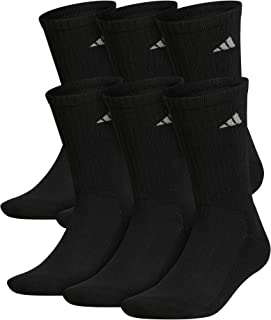 Men's Athletic Cushioned Crew Socks (6-Pair)