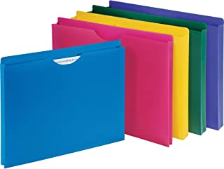 1InTheOffice Poly File Jacket File Folder, Letter 1