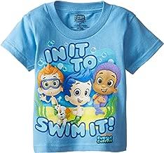 Nickelodeon Boys' Bubble Guppies in It To Swim It Short Sleeve T-Shirt