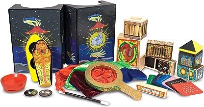 Melissa & Doug Deluxe Magic Set (Kids Magic Set, 10 Classic Tricks, Step-By-Step Instructions, 3.8