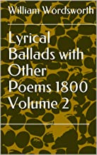 Lyrical Ballads with Other Poems 1800 Volume 2