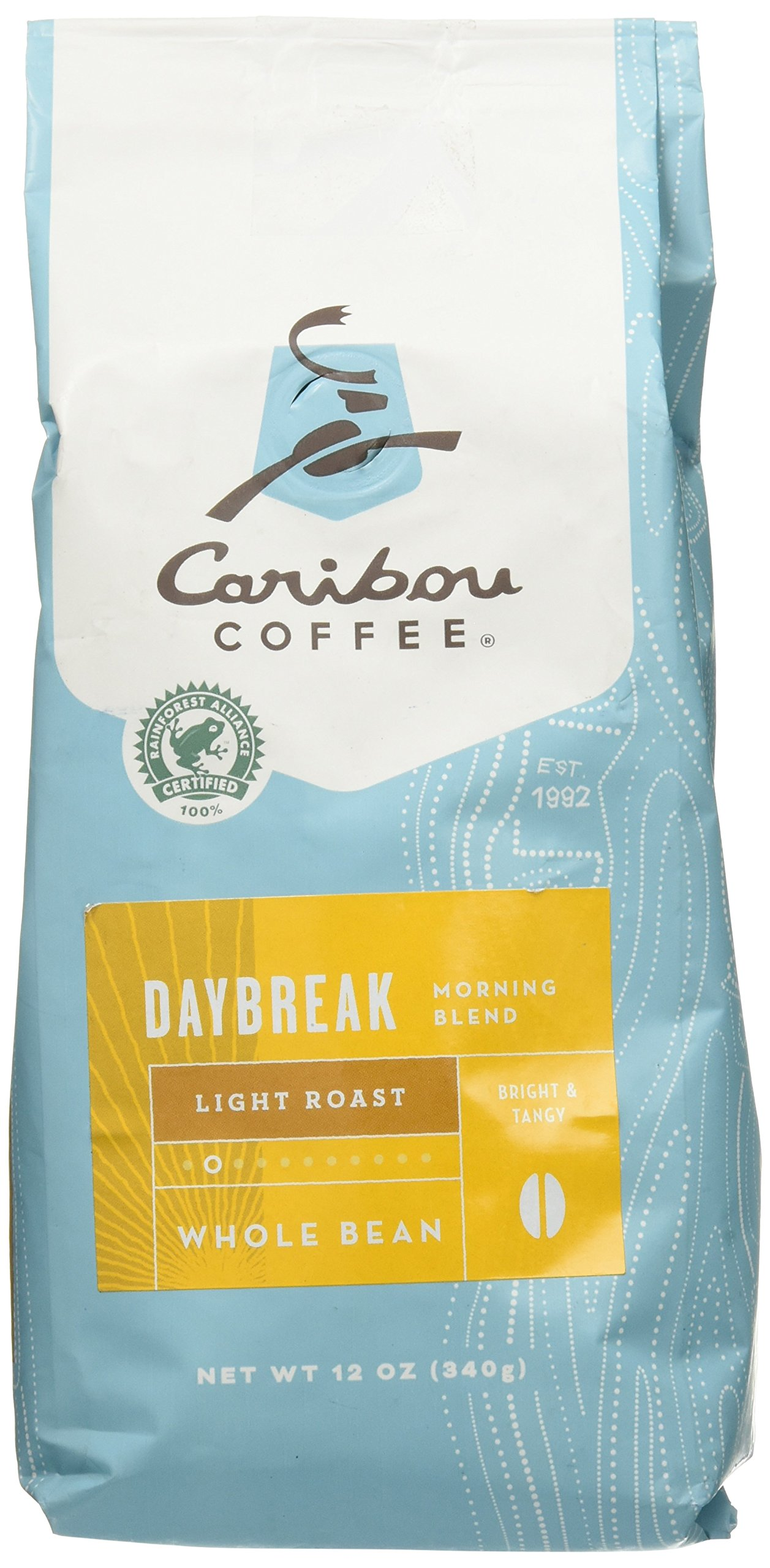 Caribou Daybreak Morning Blend Light Roast Coffee