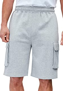 "KingSize Men's Big & Tall Fleece 10"" Cargo Shorts"