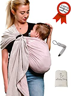 Ring Sling Baby Wrap Carrier-Infant Toddler Baby Carrier- USA CPSC Lab Approved