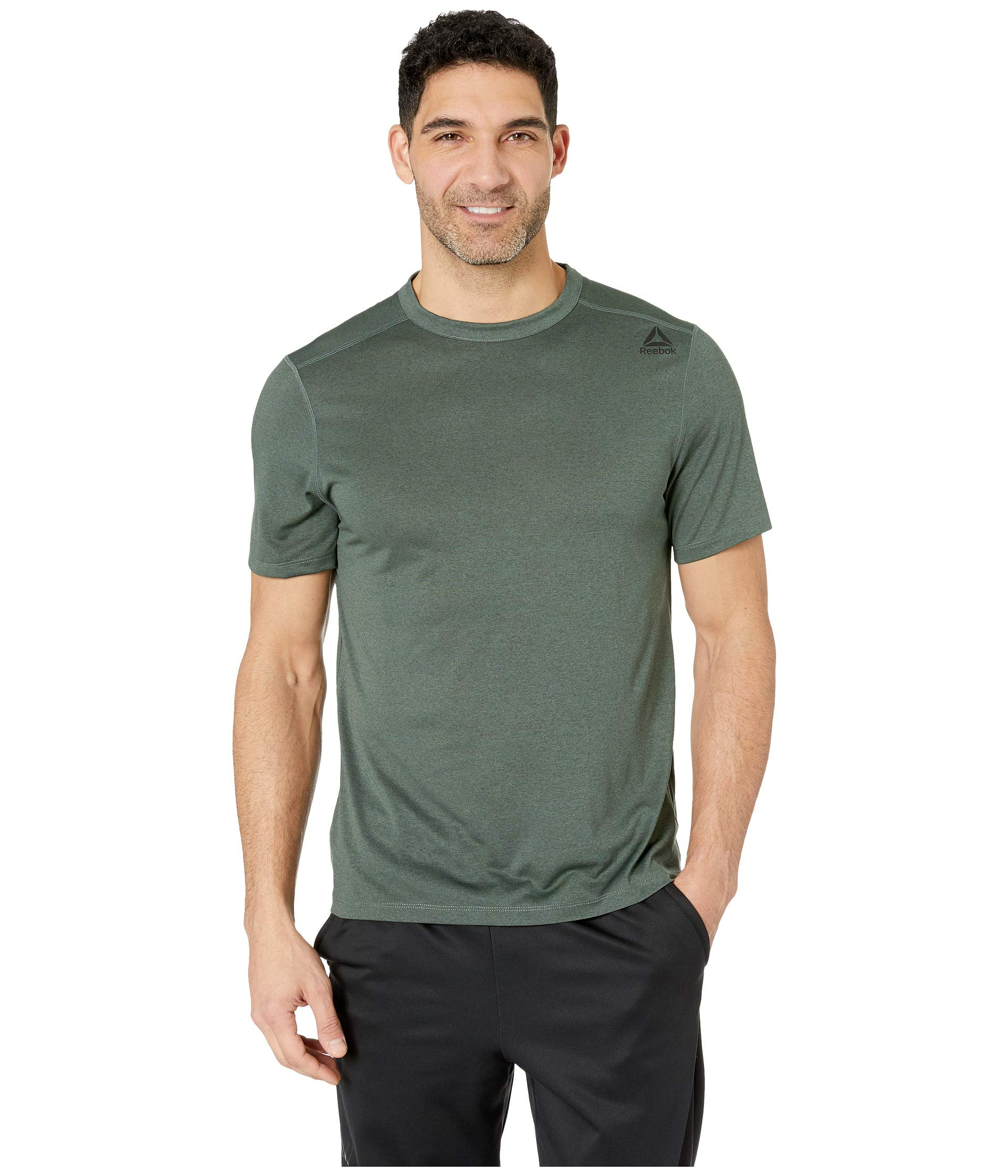 shirt Reebok T Essentials Chalk Green Sport qHHaW8nv