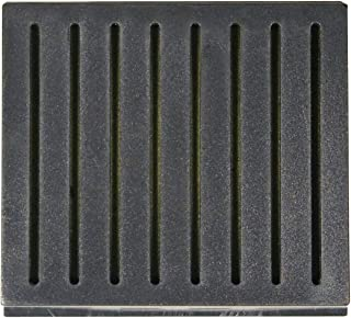 Cuban Crafters Accessories Cigar Humidifiers Black Square Humidifier 3.15 Length X 2.75 Width X .71 Height