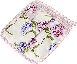 Provence 春季花朵棉防烫套垫带磁铁 20.32 厘米 x 20.32 厘米 花园花朵 8Wx8L