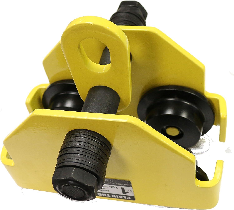 V-Lift Industrial 2 Ton Push Beam 4 Free Max 84% OFF Shipping New 407 Lbs Trolley WLL