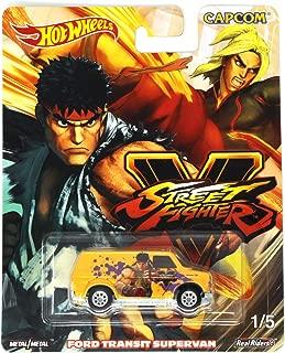 Hot Wheels Street Fighter V 1/5 Ryu vs Ken Ford Transit Supervan