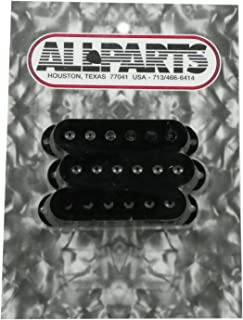 Allparts PC-0406-023 Pickup Covers for Stratocaster (Black, Set of 3)