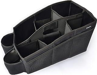MyHappyRide Auto Organizer, Utensilientasche für den Autositz mit 2 Befestigungsmöglichkeiten, wasserabweisende Rücksitztasche, Rücksitz Spielzeugtasche, Sitz Tasche für Spielzeug für die Rückbank