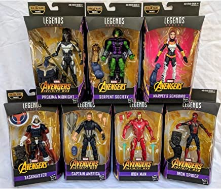 Amazon.com: Marvel Legends Avengers Infinity War Thanos BAF: Toys & Games