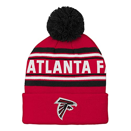 d1561df4db7 NFL Boys Kids   Youth Boys Jacquard Cuffed Knit Hat with Pom