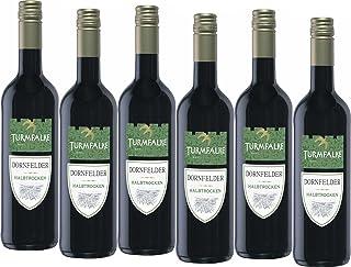 Turmfalke Dornfelder Qualitätswein halbtrocken 6 x 0.75 l