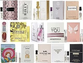 Designer Fragrance Samples for Women - Sampler Lot x 15 Perfume Vials