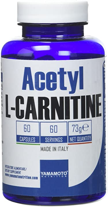 Acetyl l-carnitine 1000mg yamamoto nutrition 60 capsule P36222
