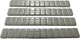 VTR Hornet Tire - 1/4oz Grey Lead Free Adhesive Backed Wheel Weights (48pcs)