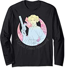 Star Wars Princess Leia I don't Need Rescuing Long Sleeve T-Shirt