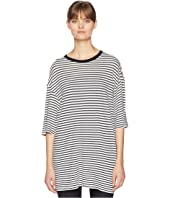 R13 - Oversized Striped Boyfriend T-Shirt