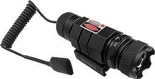 Ade Advanced Optics HB06-1 Triple Duty 450nm Blue/Violet Laser Sight with Picatinny Mount, Black