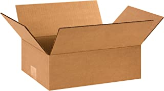 Boxes Fast BF1294 Corrugated Cardboard Flat Shipping Boxes, 12