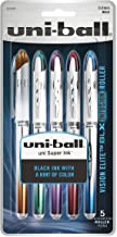 uni-ball Vision Elite BLX Infusion Rollerball Pens, Bold Point (0.8mm), Assorted Colors, 5 Count