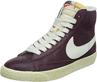 nike womens blazer MID SUEDE VNTG hi top trainers 518171 sneakers shoes